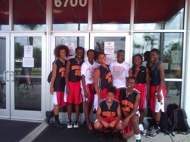 2011 Girls Varsity AAU Team